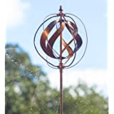 Amazon.com : Ancient Graffiti Staked Lily Kinetic Spinner
