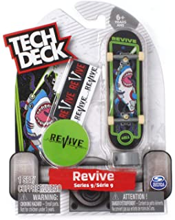 ad775e1b32 Amazon.com: Tech Deck Revive Skateboards Rare Series 9 Arcade Pro ...