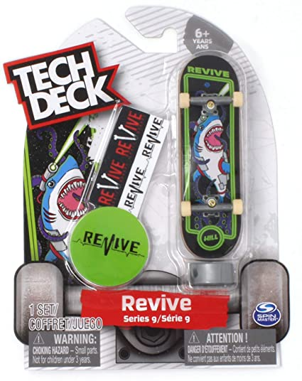 Amazon.com: Tech Deck Revive Skateboards Ultra Rare Series 9 ...