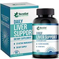 Liver Support and Cleanse Supplement   Liver Support Supplement for Fatty Liver   Liver Detox Cleanse & Repair   60 Capsules