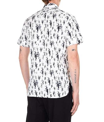 Neil Barrett Luxury Fashion Hombre BCM1153AL020S526 Blanco Camisa ...