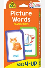 Picture Words: Ages 4-6 Cards