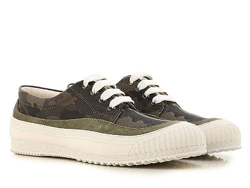 Hogan Mujer HXW2580AF90IYLV616 Verde Tela Zapatos: Amazon.es: Zapatos y complementos