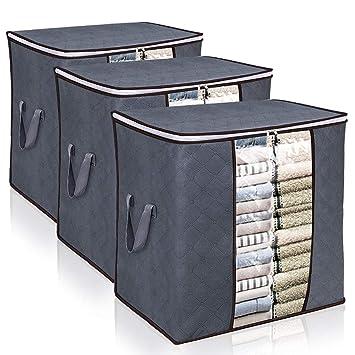 Amazon.com: Kernorv Bolsas de almacenamiento de ropa de gran ...