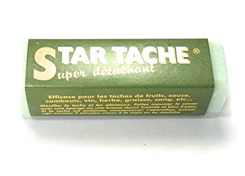 Super jabón quitamanchas Star Tche ideal contra tches de sangre, hierba, vino peso:
