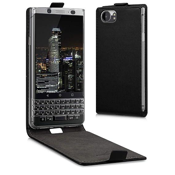 wholesale dealer dc6ba 31c7e Amazon.com: kwmobile Vertical Flip Case for BlackBerry KEYone (Key1 ...