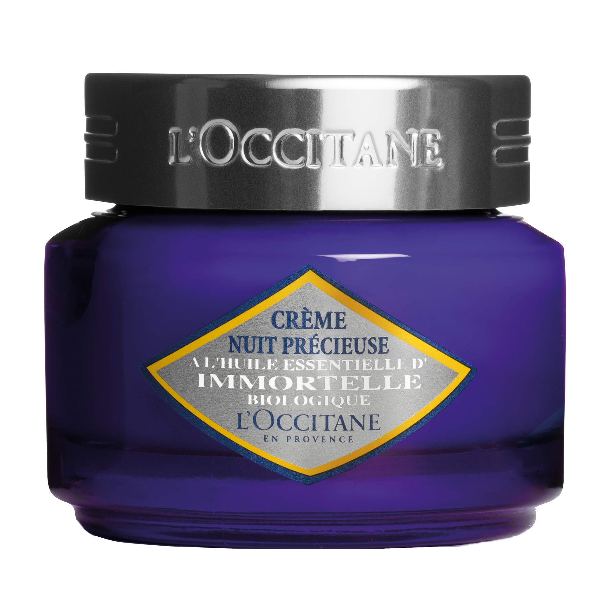 L'Occitane Immortelle Precious Night Cream to Help Reduce the Appearance of Wrinkles, 1.7 oz