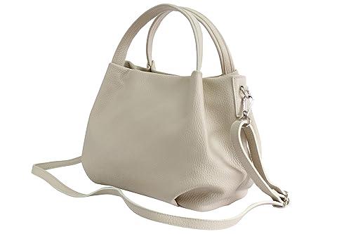 AmbraModa sac à main pour femme en cuir, sac porte epaule GL023
