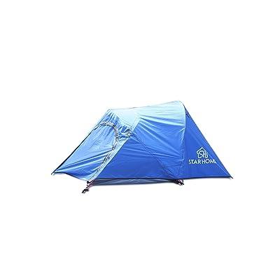 Star Home Bicycletent Tente de randonnée en plein air Camping Randonnée tentes pour 4personnes Abri Soleil léger Plage ombrage tentes tentes Tente familiale automatique tentes pour extérieur