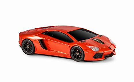 Amazon Com Wireless Mouse Lamborghini Aventador Lp 700 4 Red