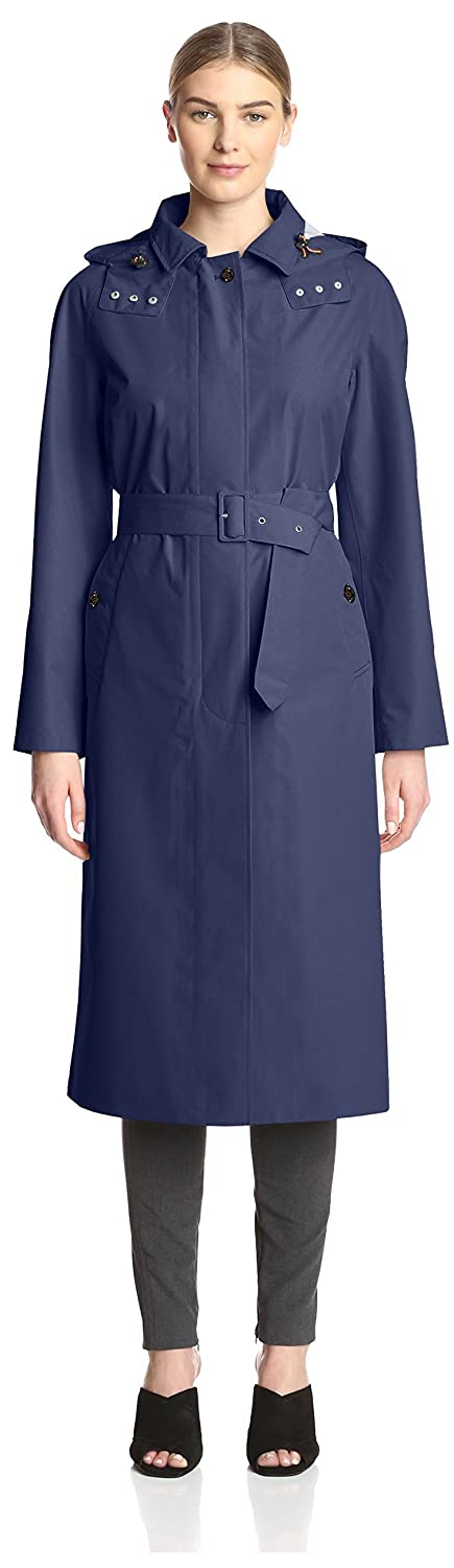 bluee Black Save The Duck Women's Rainy Trench