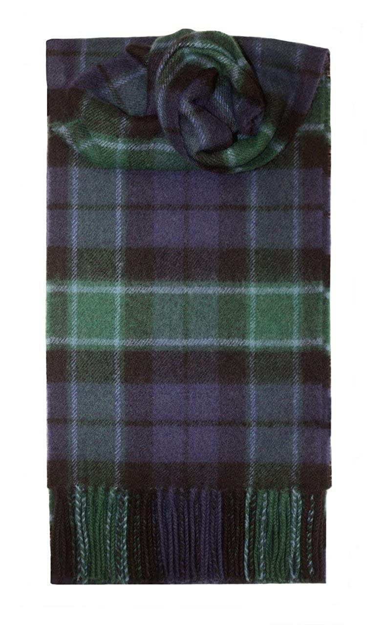 Graham Of Menteith Tartan Scarf Modern Lambswool I Luv LTD ABSCP/GRM/M
