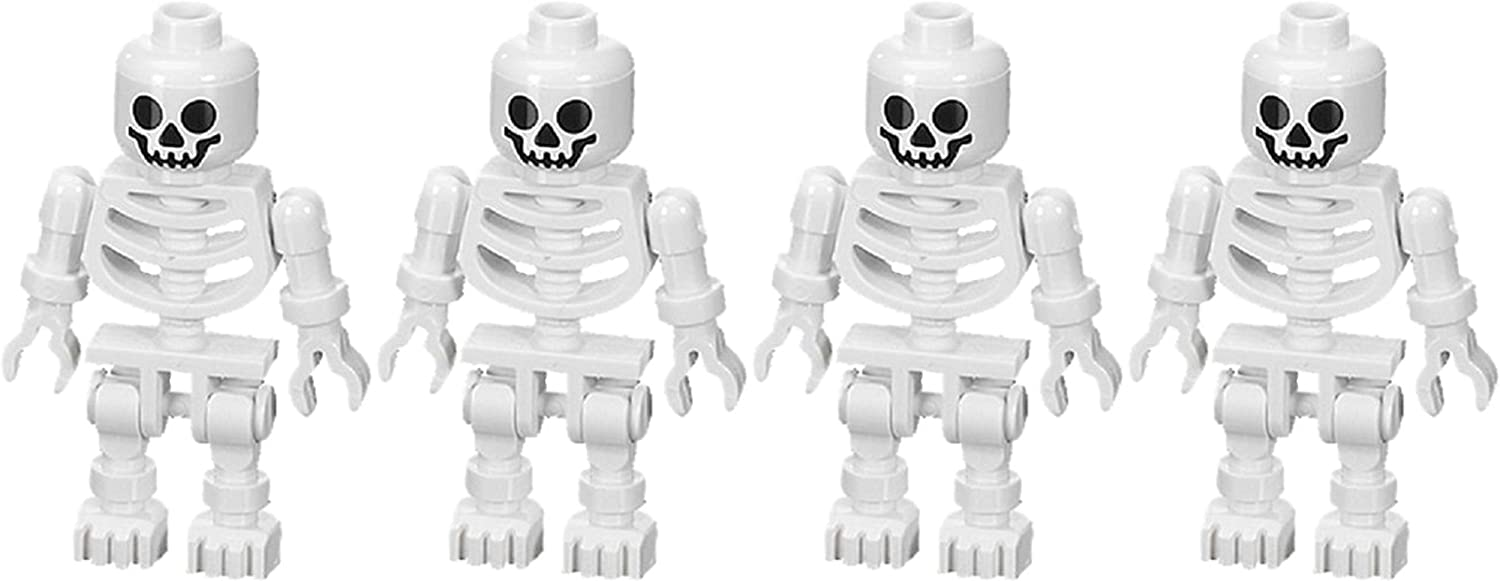Skeleton (Swivel Arms) 4-Pack - LEGO Prince of Persia Minifigure