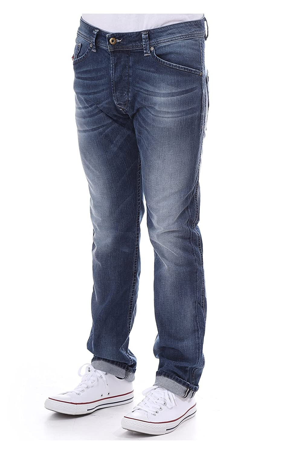 968a4d30 Diesel Darron Jean 840f 34 Leg Md Denim 32 L: Amazon.co.uk: Clothing
