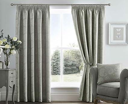 Tende Per Interni Color Tortora : Tende di qualità di color grigio tortora motivo cachemire stile