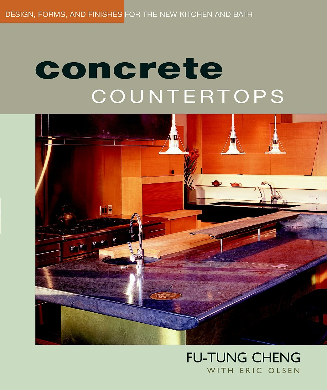 Concrete Countertops Design Finishes Kitchen
