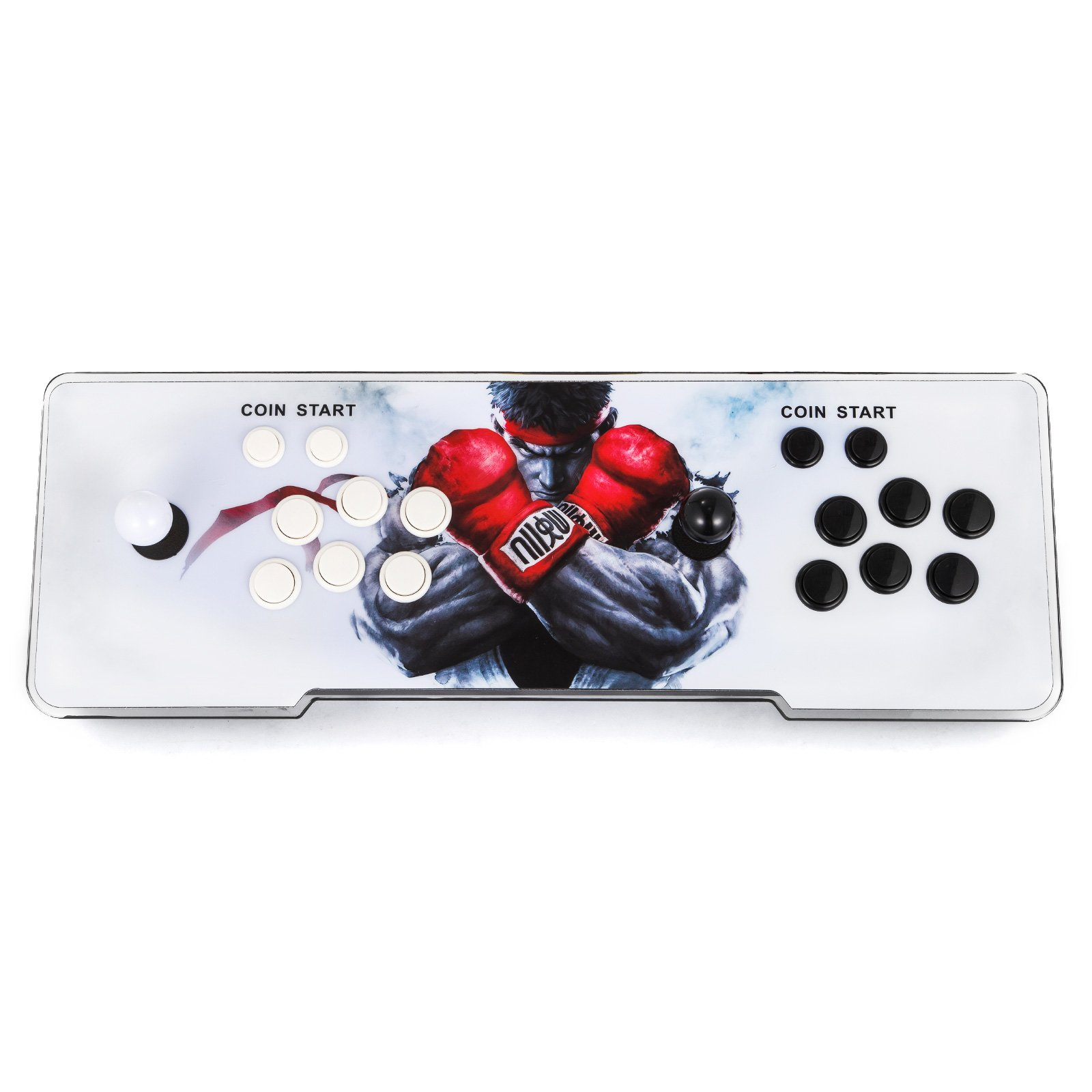 Happybuy Video Game Console, Arcade Machine 1500 Classic Games, 2 Players Pandora's box 5S multiplayer home Arcade Console 1500 Games All in 1 NON-JAMMA PCB Double Stick Newest Design Buttons Power HD by Happybuy (Image #5)