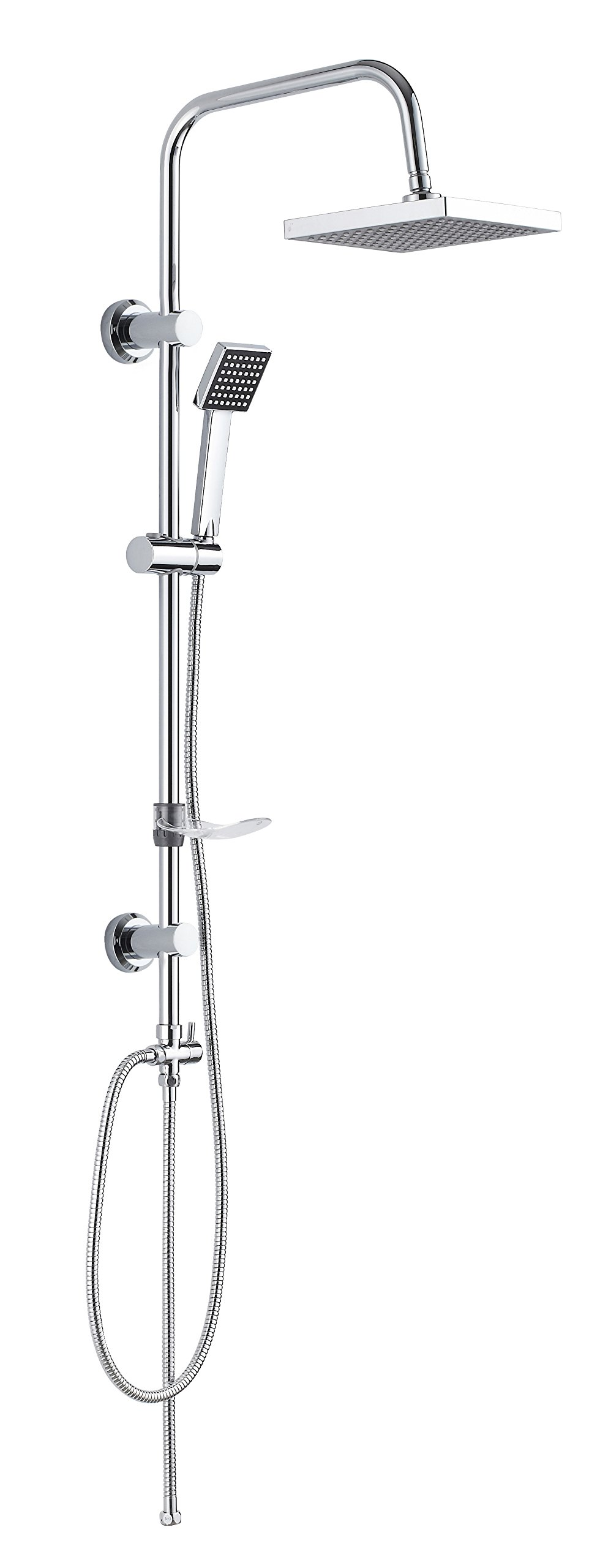 Shower Head and Hose Set and Taps: Amazon.co.uk