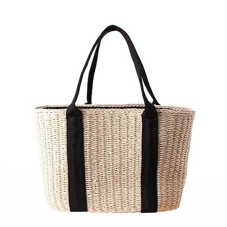 d2571acb3d129 Fashion Outdoor Casual Handbag Designer Shoulder Bag Female Large Bucket  String Tote Bag Beige