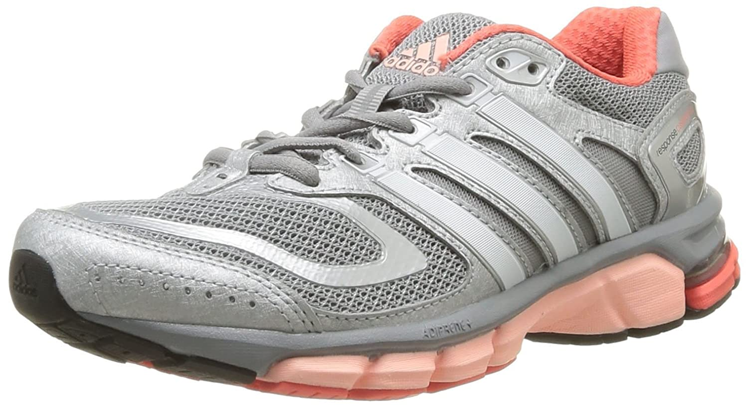 adidas Performance Womens Response Cushion 22-5 Running Shoes D67065 Mid  Grey/Pearl Metal/Glow Orange 3.5 UK, 36 EU: Amazon.co.uk: Shoes \u0026 Bags