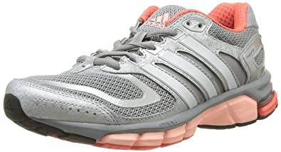 adidas Performance Womens Response Cushion 22-5 Running Shoes D67065 Mid  Grey Pearl Metal 34672c3c5