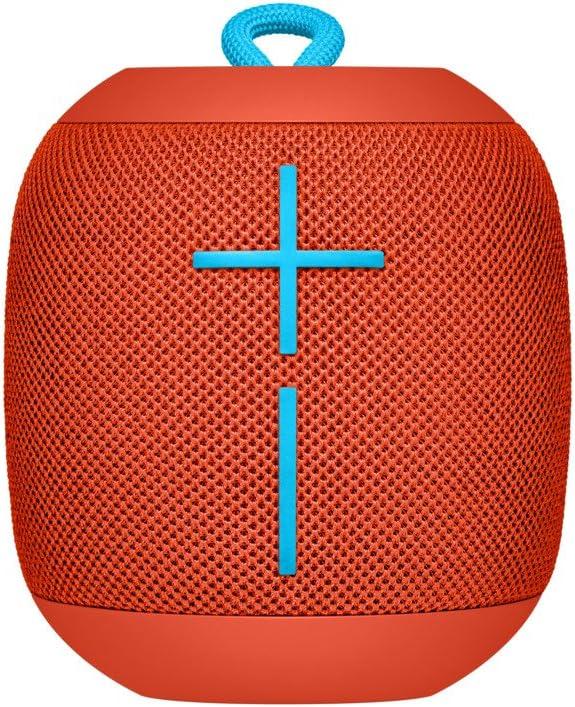 Ultimate Ears WONDERBOOM Portable Waterproof Bluetooth Speaker - Fireball Red
