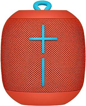 Ultimate Ears UE WONDERBOOM Wireless Waterproof Bluetooth Speaker Fireball Red