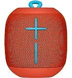 Altoparlante Bluetooth Ultimate Ears Wonderboom Impermeabile con Connessione Doppia, Rosso Fuoco