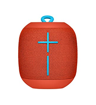 Ultimate Ears WONDERBOOM Bluetooth Speaker Waterproof with Double-Up  Connection - Fireball Red