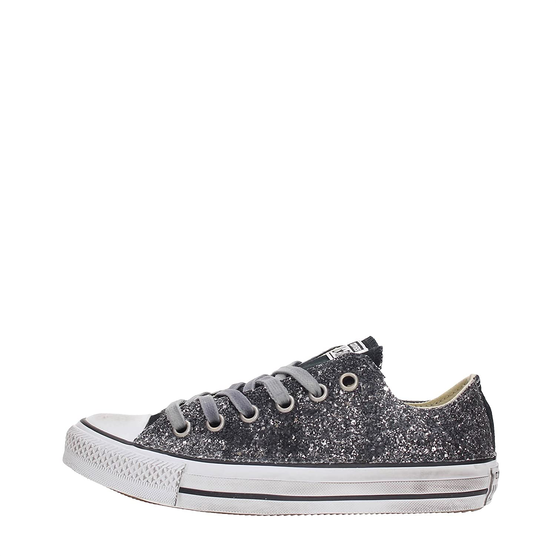 Converse 156907C Sneakers Mujer 37 EU VINTAGE SILVER GLITTER