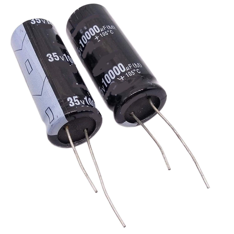 4700 mfd 35V 18x35mm 11//16 x 1 3//8 Set of 1 Nichicon 105/°C Electrolytic Capacitor 4700uF 35V 20/% Radial