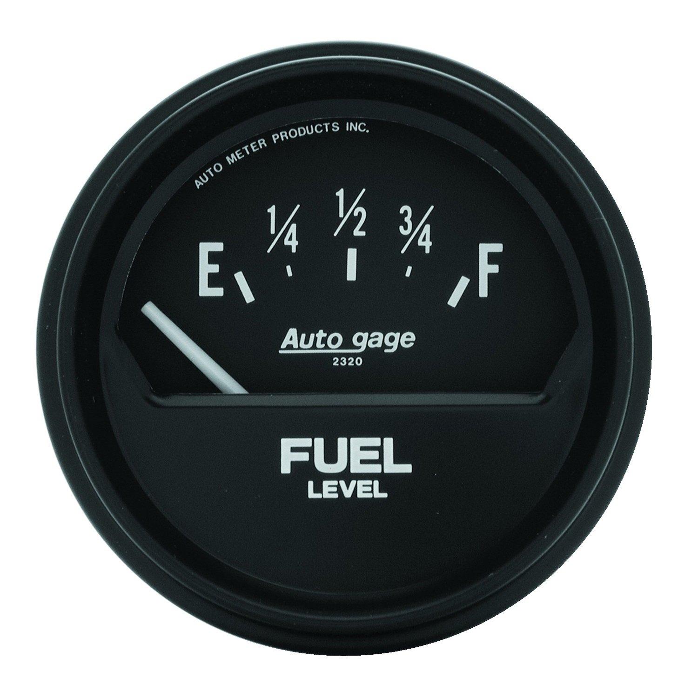 Auto Meter 2315 Autogage Short Sweep Electric Fuel Level Gauge