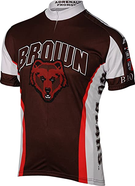 a1998dad9 Amazon.com  Adrenaline Promotions Brown University Cycling Jersey ...