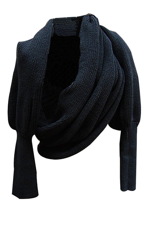 TININNA mangas largas de las mujeres de la bufanda multifuncional invierno Bufandas mujeres Moda Buf...