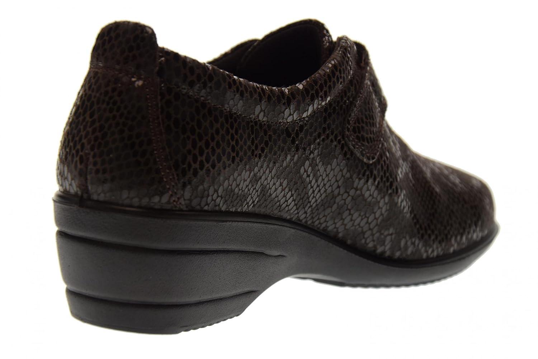 Enval soft Damenschuhe Keil Turnschuhe Ohne Schnürsenkel 89852/00 Größe 37  Brown: Amazon.de: Schuhe & Handtaschen