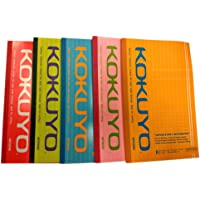 Kokuyo Notebook Ruled 172pages Assorted (17x27cm) (Pack of 5)