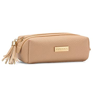 020a9b76753c Small Makeup Bag, YM&COCO Cosmetic Bag for Purse Pencil Case Pouch Clutch  Bag Organizer with...