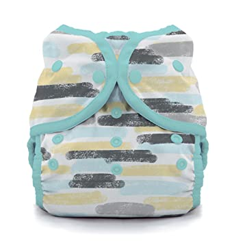 Thirsties Duo Wrap Cloth Diaper Cover Lagoon Size Two Snap Closure 18-40 lbs