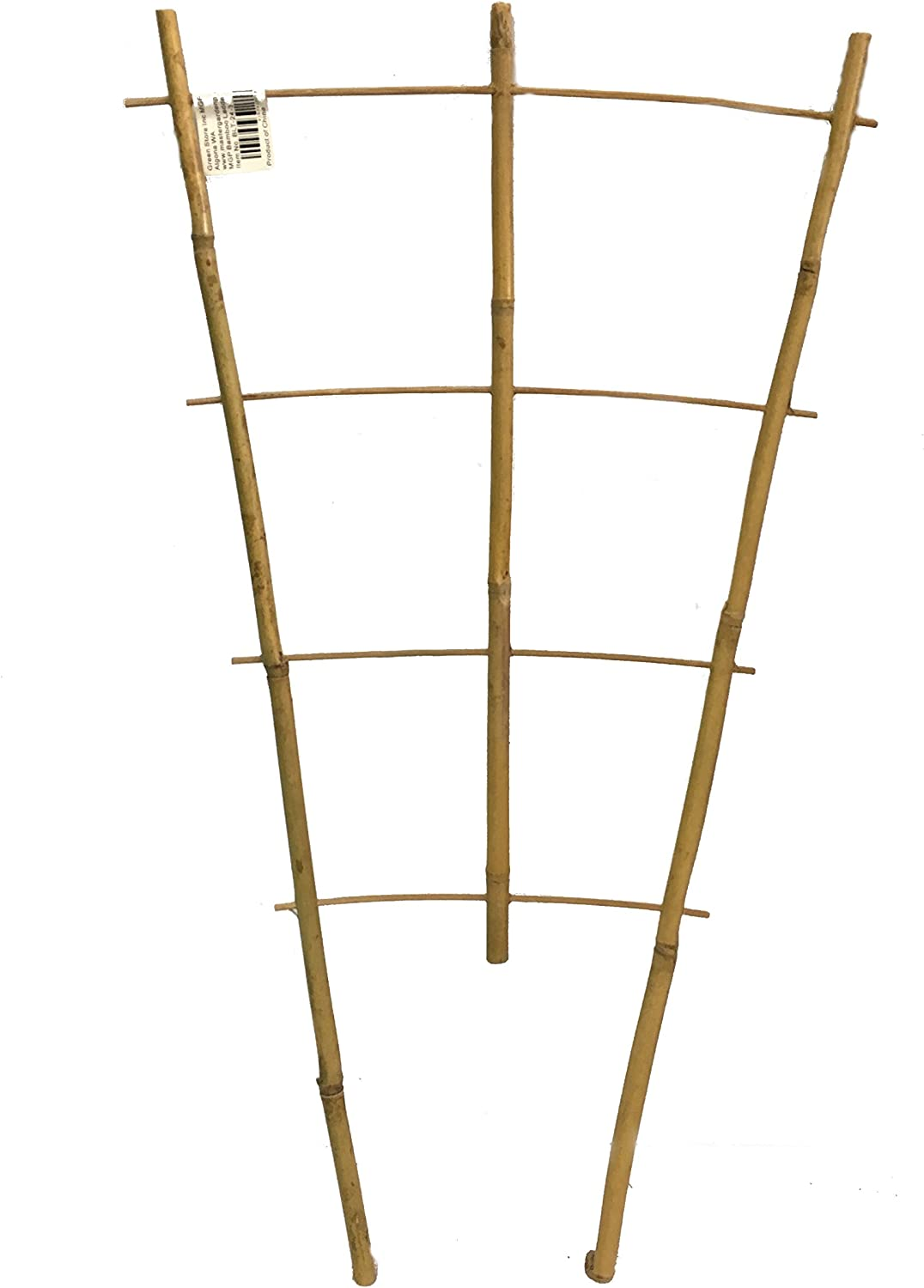 Natural Color Bamboo Trellis 24 inches Tall - Quantity 2