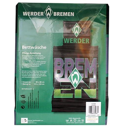 Bertels Sv Werder Bremen Bettwäsche übergröße Stadionbuchstaben 155