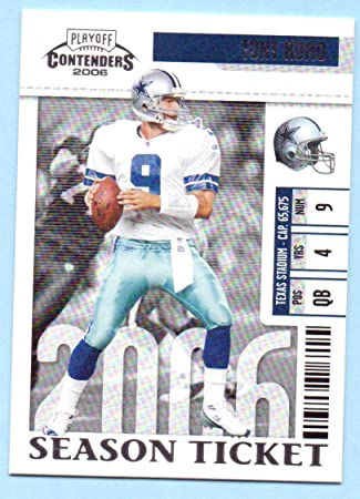 Tony Romo 2006 Playoff Contenders  25 - Dallas Cowboys at Amazon s ... 2c7cde0db