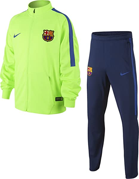 Nike 810058-368 Chándal Fútbol Club Barcelona, Hombre, Naranja, XS ...