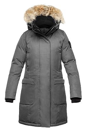 Amazon.com: Nobis Ladies Bomber Jacket MERIDETH-Heathered Burgundy: Clothing