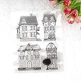 calistou k artística Graffiti diseño de flores transparente sello de goma DIY álbum artesanía scrapbooking decoración