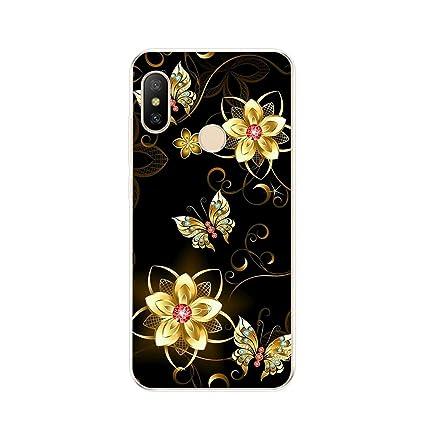 Amazon.com: Ttyug - Carcasa de silicona para Xiaomi Mi A2 ...