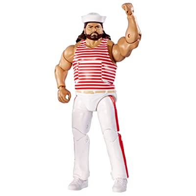 WWE Elite Flashback Tugboat Action Figure: Toys & Games