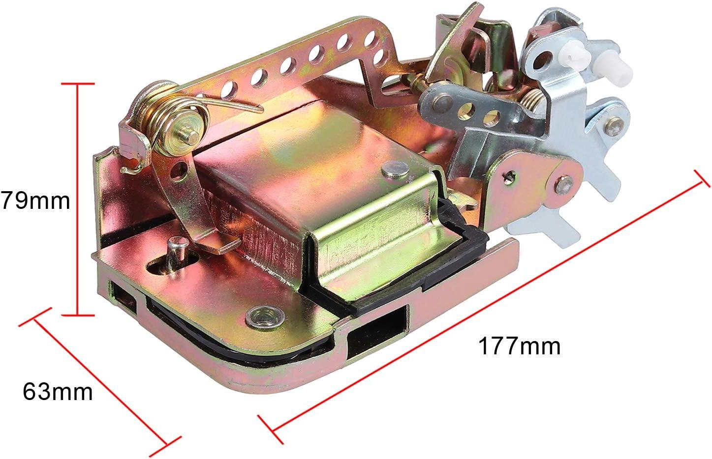 Amazon.es: Proster 701837015D Mecanismo de bloqueo de la puerta delantera izquierda del coche Compatible con Transporter T4 1990-2003 OE 701837015D Cerradura de metal para puerta