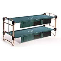 Disc-O-Bed Cam-O-Bunk Cot with Organizers (Large)