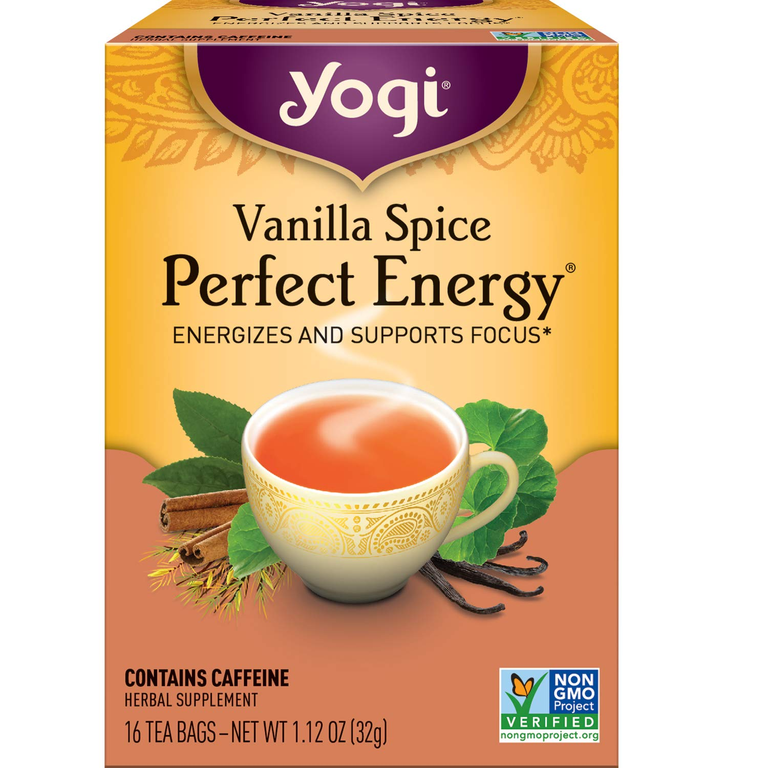Yogi Tea - Vanilla Spice Perfect Energy