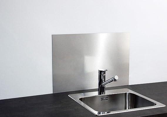 Paulus Spritzschutz Waschbecken 60x40 Cm Acrylglas Weiß Amazonde